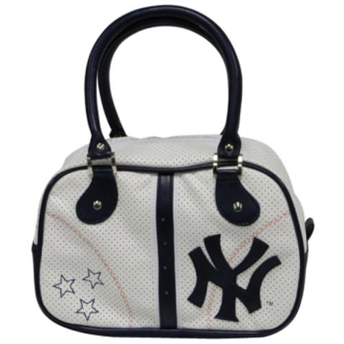 "Yankees Navy ""Stars"" Bowling Bag Purse"