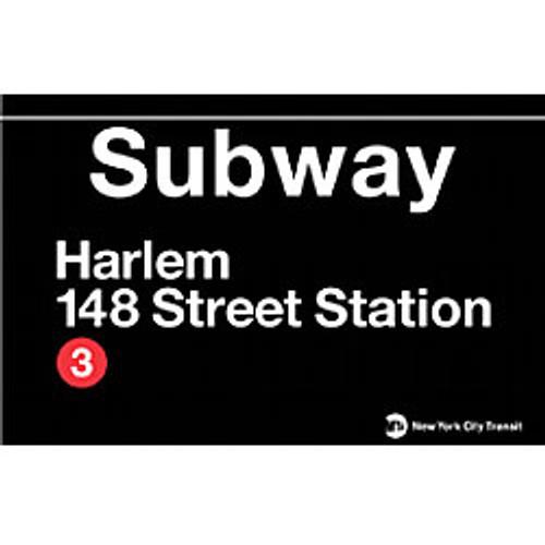 Harlem Subway Magnet