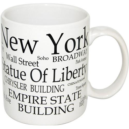 "NYC ""Black Letters"" 4oz. Mini Mug"