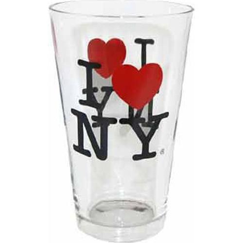 I Love NY Glass Tumbler