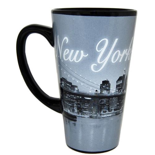 I Love NY At Night Java Mug