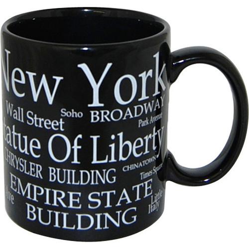 """NYC """"White Letters"""" 11oz Mug"""