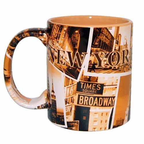 """NYC """"Sepia Photos"""" 11oz Mug"""