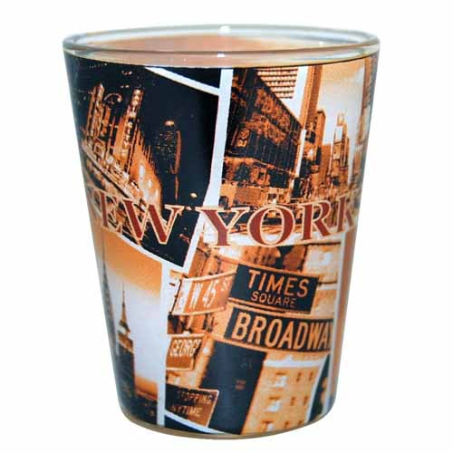 "NYC ""Sepia Photos"" Shotglass"