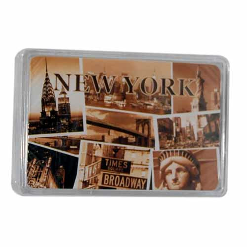 """NYC """"Sepia Photos"""" Playing Cards"""