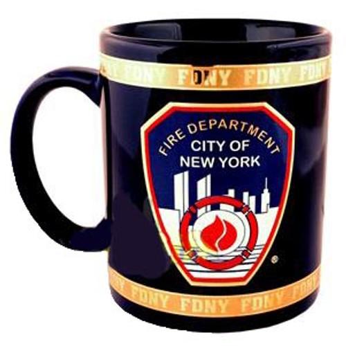 FDNY Navy with Gold 11oz Mug