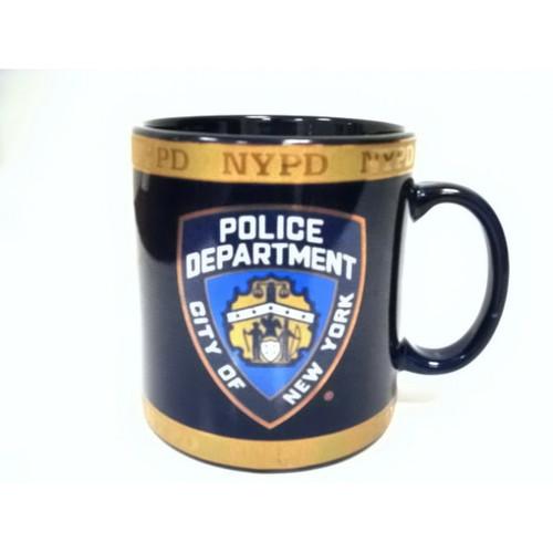 NYPD Navy with Gold 11oz Mug