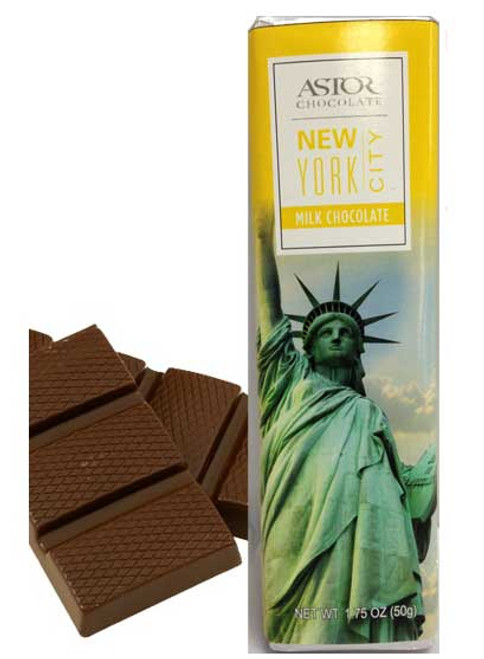 Statue of Liberty Milk Chocolate Bar
