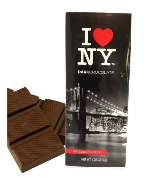 I Love NY Dark Chocolate Bar