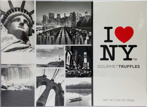 I Love NY Gourmet Truffles Chocolate Gift Box