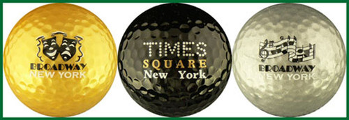 Broadway Golf Ball Variety 3-Pack