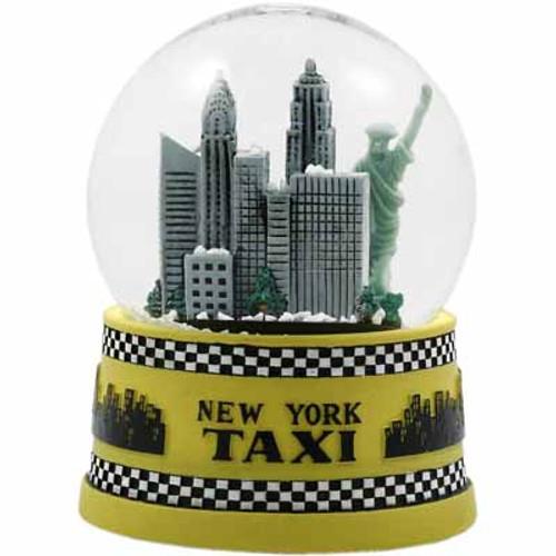 NYC Taxi 45mm Snowglobe