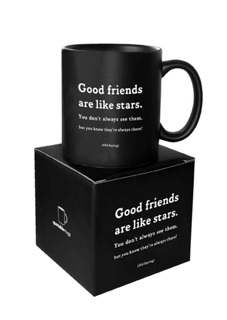 Good Friends Are Like Stars Quotable Mug