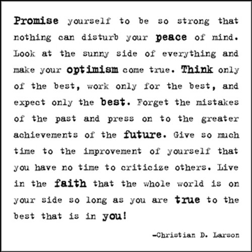 Promise Yourself Quotable Card