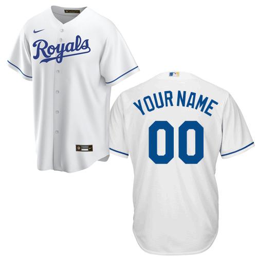 Kansas City Royals Replica Personalized Home Jersey