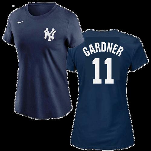 NY Yankees Ladies Replica Brett Gardner Fashion Tee
