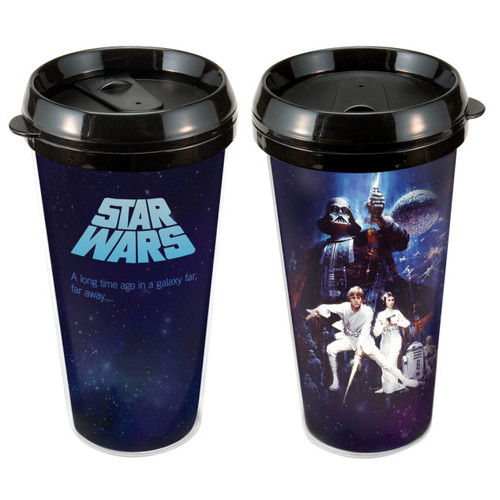 Star Wars 16 oz Plastic Travel Mug