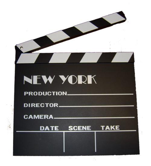 NYC Movie Clapboard