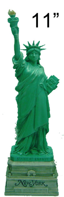 11 Inch Statue of Liberty with NY Base