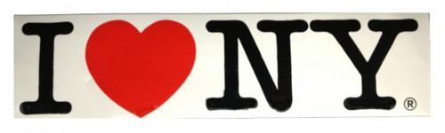 I Love NY Bumper Sticker