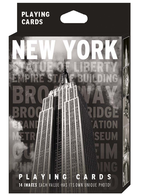 NYC 14 Black and White Images Playing Cards