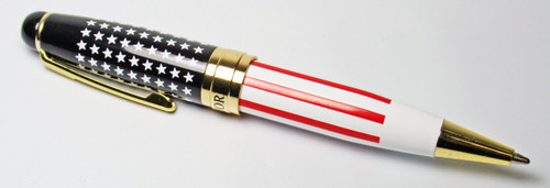 US Flag Ladies Twist Pen