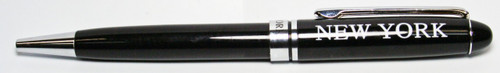 NY First Class Black Ballpoint Pen