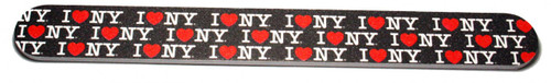 I Love NY Allover Nail File - Black