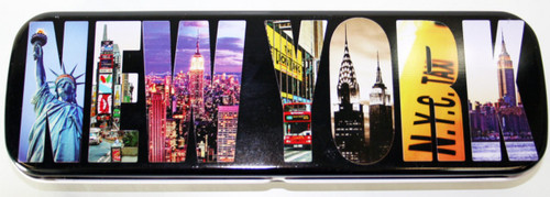 NY Iconic Letter Pencil Case