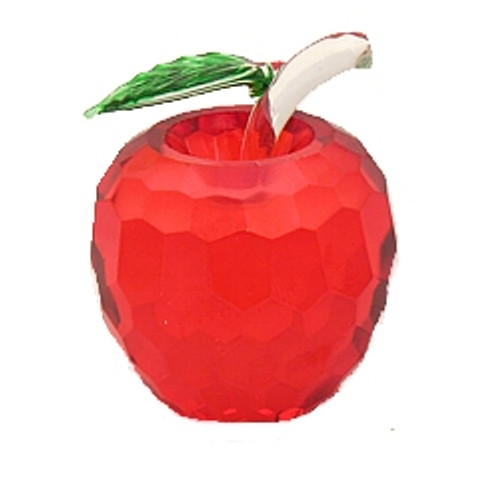 NYC Red Crystal Apple - 1.5 Inch