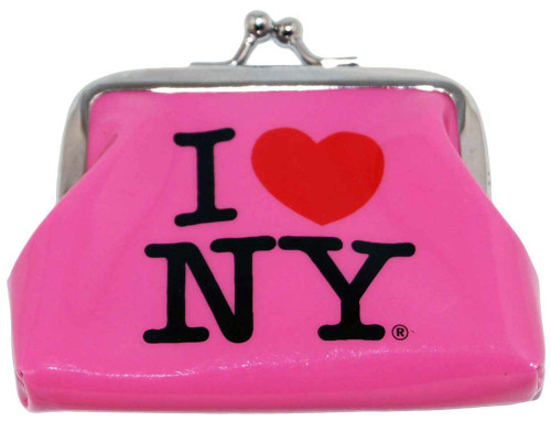 I Love NY Pink Coin Purse
