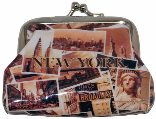 NYC Sepia Photos Coin Purse