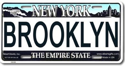 Brooklyn NY License Plate