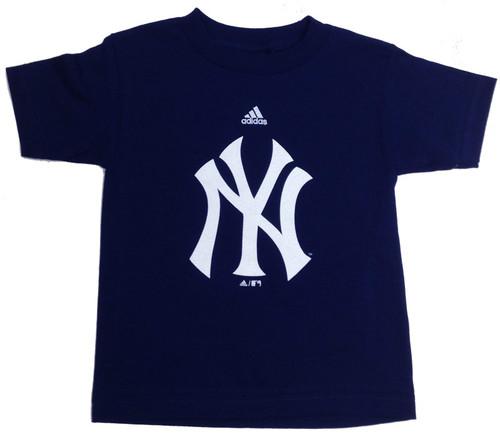 """Yankees Navy """"Team Logo"""" Kids T-Shirt"""