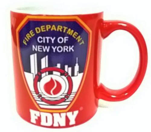 FDNY Red 11 oz Mug