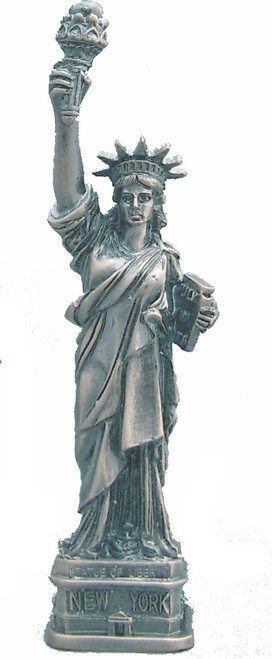 Pewter Statue of Liberty - 4 Inch