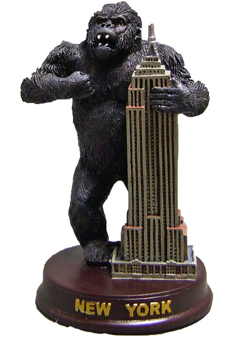 King Kong Empire State Figurine - 5 Inch