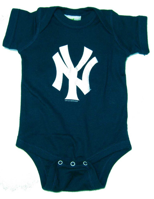 "Yankees Baby ""NY"" Navy Creeper"