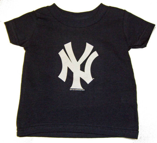 "Yankees Toddler ""NY"" Navy Tee"