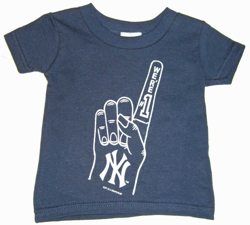 "Yankees Toddler ""We're #1"" Navy Tee"