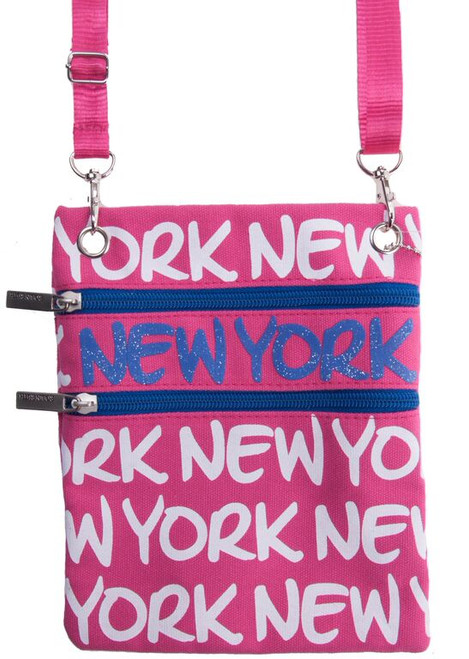Robin-Ruth NY Pink Neck Wallet