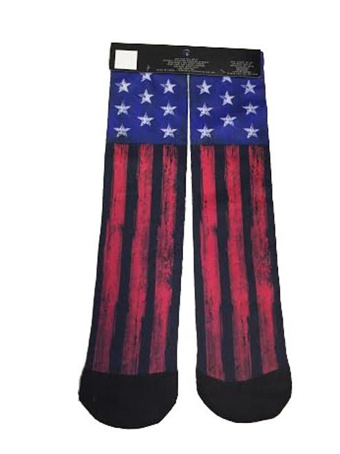 USA Bright Flag Tube Socks