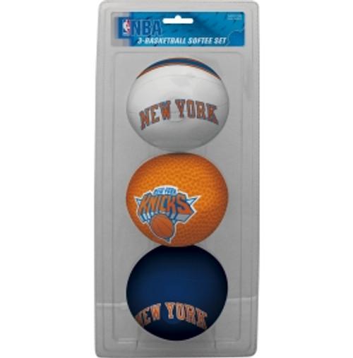New York Knicks Softee Basketball Three-Ball Set
