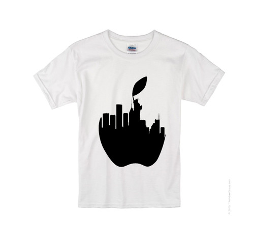 Kids NY Liberty Apple T-shirt -Kids