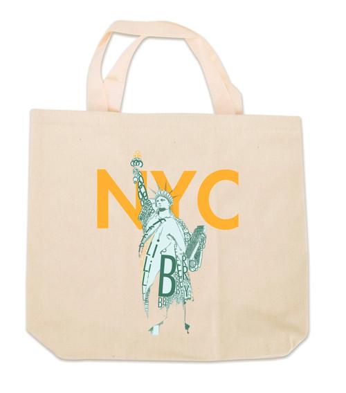 NY Liberty Canvas Tote Bag