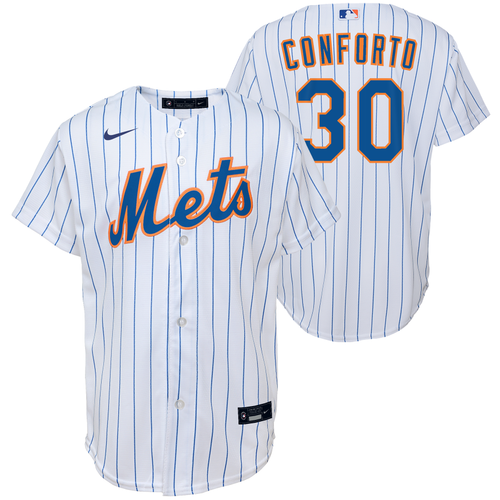 Michael Conforto Youth Jersey - New York Mets Replica Kids Home Jersey