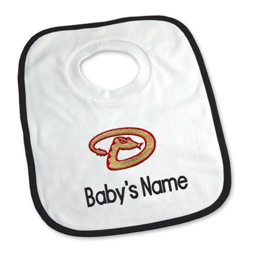 Arizona Diamonbacks Personalized Pullover Baby Bib