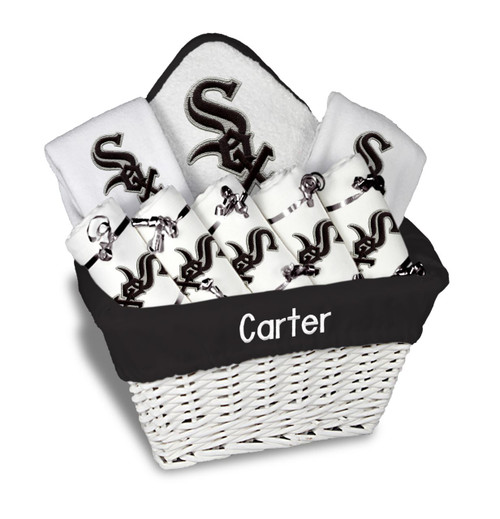 Chicago White Sox Personalized 9-Piece Gift Basket