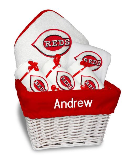 Cincinnati Reds Personalized 6-Piece Gift Basket
