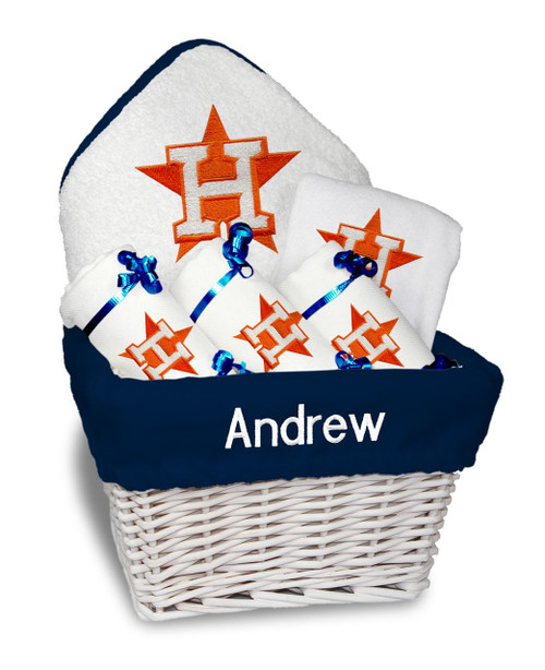Houston Astros Personalized 6-Piece Gift Basket